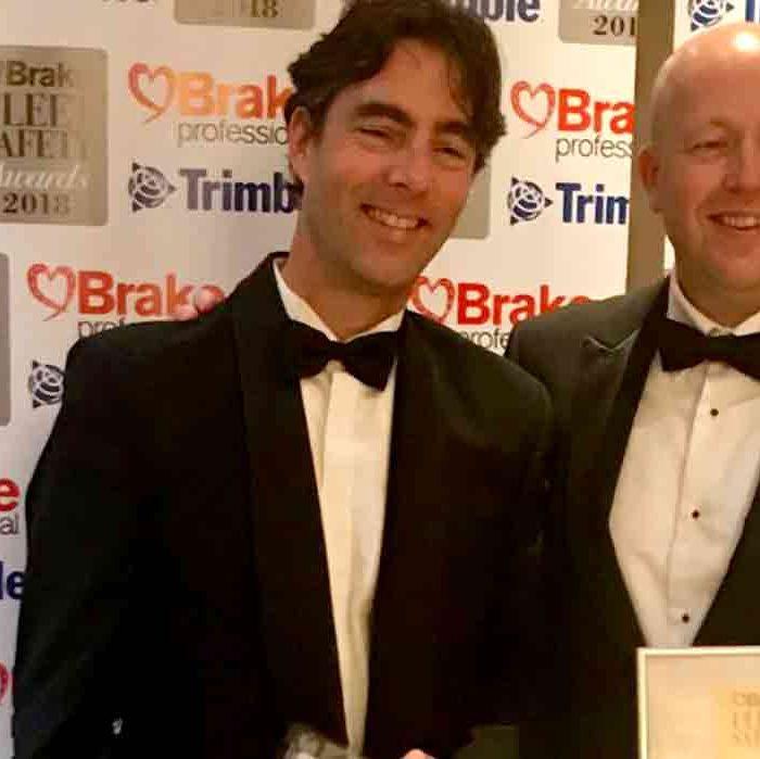 SafeDrivePod vince il Brake Fleet Safety award 2018 come migliore soluzione per contrastare le distrazioni alla guida.
