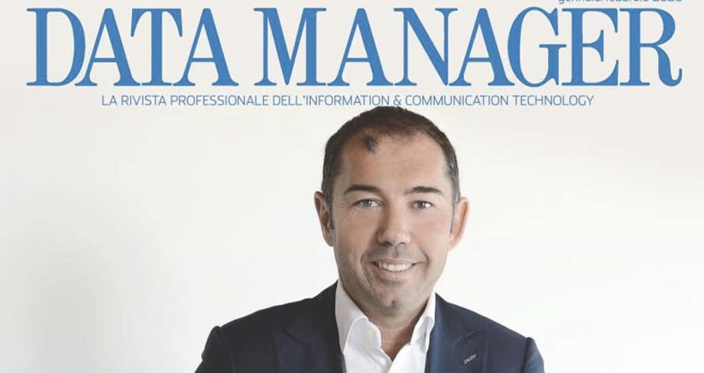Data Manager cover story Filippetti