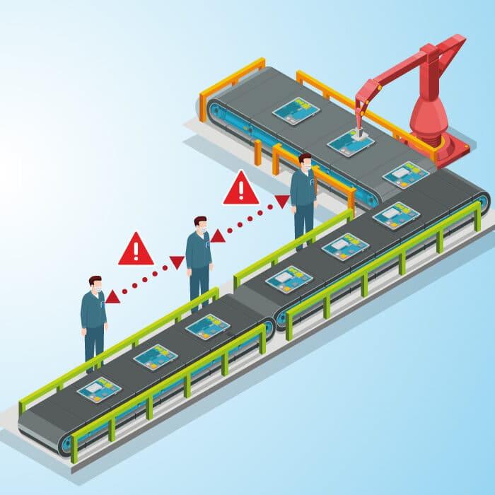 Gruppo Filippetti annuncia DistanceCHECK e ORTM: le soluzioni di Smart Safety per la ripresa produttiva