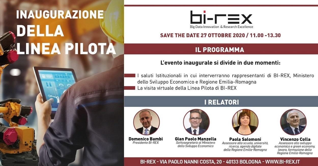 Gruppo Filippetti partecipa all'inaugurazione della Linea Pilota BI-REX